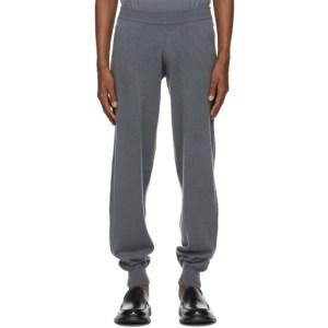 Frenckenberger Grey Cashmere Hotoveli Lounge Pants