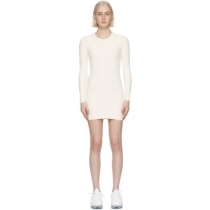 Gil Rodriguez SSENSE Exclusive Off-White Thermal Henley Dress