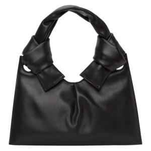 Little Liffner Black Knot Evening Bag