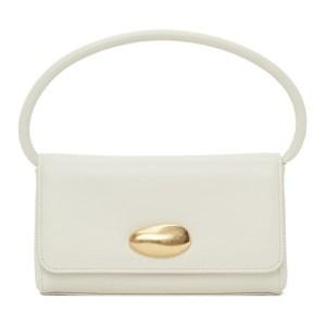 Little Liffner SSENSE Exclusive Off-White Mini Baguette Bag