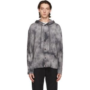Barena Grey Caroman Overshirt Jacket