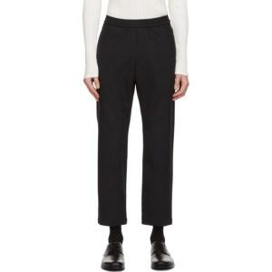 Barena Black Bativoga Trousers