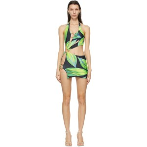 Louisa Ballou Blue and Green Sex Wax Dress
