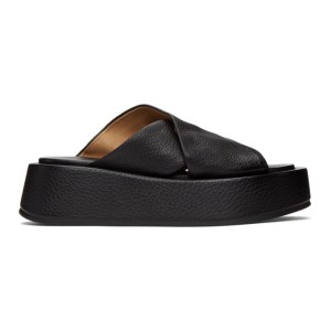 Marsell Black Scalzato Sandals