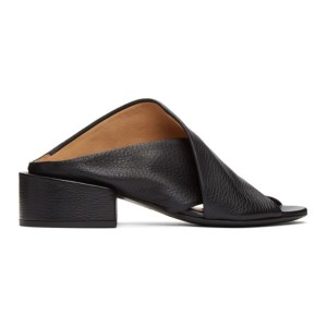 Marsell Black Sbucciata Sandals