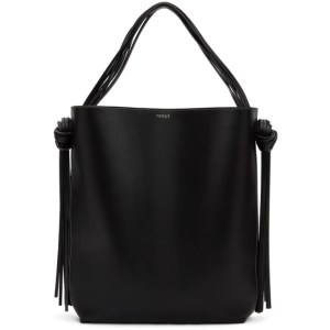 NEOUS Black and Navy Oversized Saturn Tote