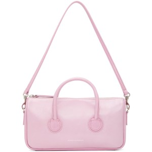 Marge Sherwood Pink Crinkled Small Zipper Bag