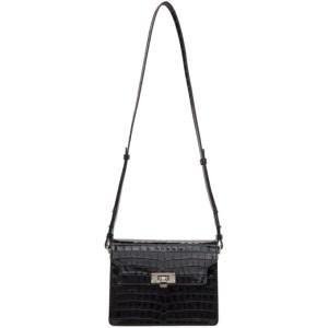 Marge Sherwood Black Croc Vintage Brick Matisse Bag