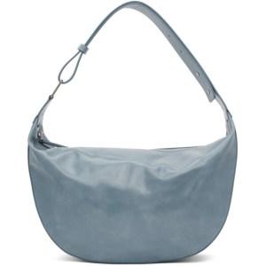 Marge Sherwood Blue Crinkled Moss Half Bag