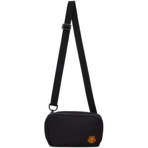 Kenzo Black K-Tiger Shoulder Bag