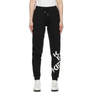 Kenzo Black Sport Big X Lounge Pants