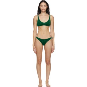 Oseree Green Lumiere Sporty Bikini