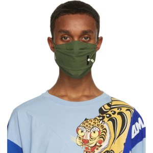 Kenzo Three-Pack Multicolor Sport Logo Face Masks