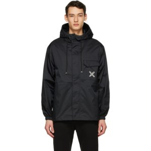 Kenzo Black Sport Big X Windstopper Jacket