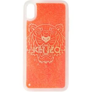 Kenzo Pink Glow-In-The Dark Tiger iPhone X/XS Case