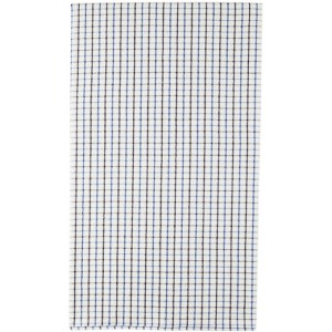BEAMS PLUS White Check Towel