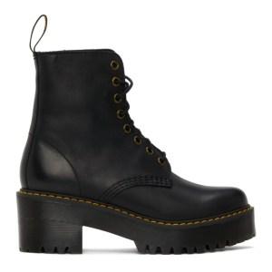 Dr. Martens Black Shriver Hi Boots
