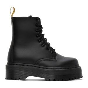 Dr. Martens Black Vegan Jadon II Mono Boots