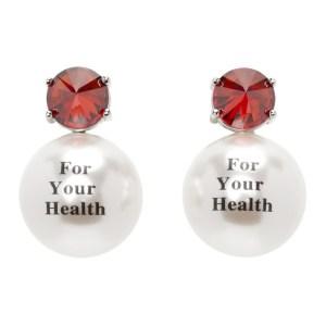 Jiwinaia Red For Your Health Earrings