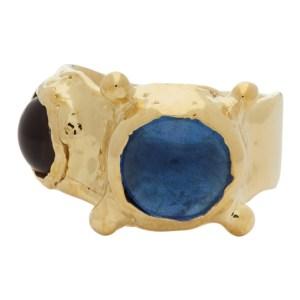 Mondo Mondo Blue and Purple Pulp Ring