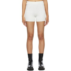 Dion Lee SSENSE Exclusive White Float Shorts