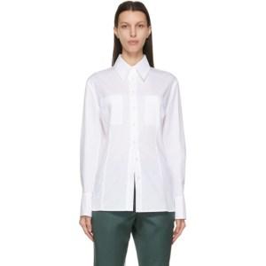LVIR White Back String Shirt