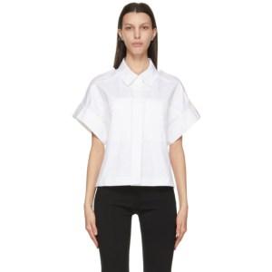 LVIR White Wide Capra Short Sleeve Shirt