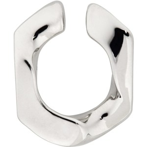 Numbering Silver 250 Single Ear Cuff
