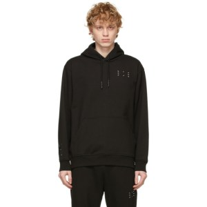 MCQ Black Relaxed Hoodie