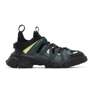 MCQ Green Orbyt Descender Sneakers