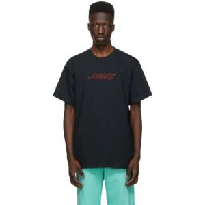 Awake NY Black Classic Outline Logo T-shirt
