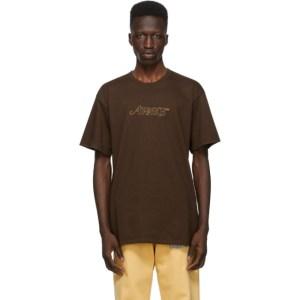 Awake NY Brown Classic Outline Logo T-shirt