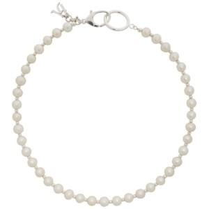 Hatton Labs White Classic Pearl Necklace