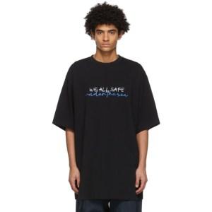 JERIH Black Under The Sea T-Shirt