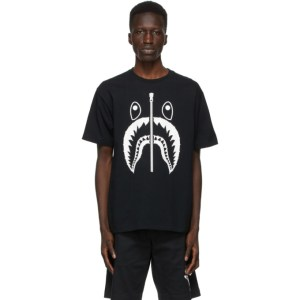 BAPE Black Crystal Stone Shark T-Shirt