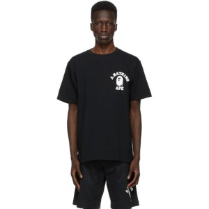 BAPE Black Space College T-Shirt