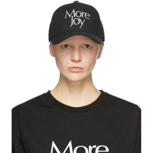 More Joy Black Logo Cap