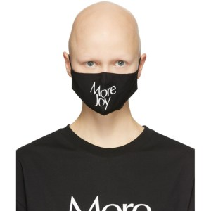 More Joy Black Logo Mask