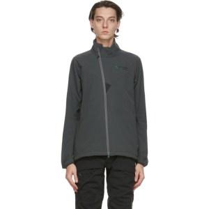 Klattermusen Grey Vanadis Zip Jacket