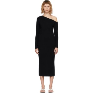 Lisa Yang Black Cashmere The Kitty Dress