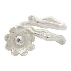 Georgia Kemball Silver Flower Ring
