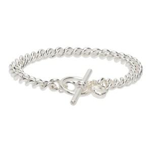 Georgia Kemball Silver Goblin Chain Bracelet
