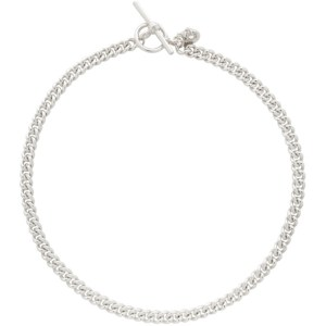 Georgia Kemball Silver Goblin Curb Chain Necklace