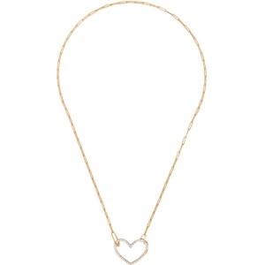 Yvonne Leon Gold Coeur Diamond Necklace