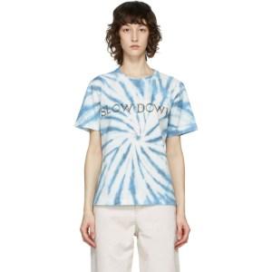 Isabel Marant Etoile Blue Slow Down Zewel T-Shirt