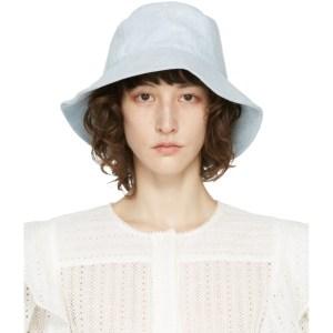 Isabel Marant Blue Loiena Bucket Hat