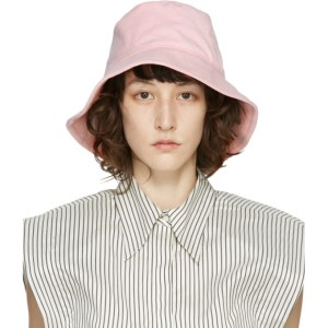 Isabel Marant Pink Loiena Bucket Hat