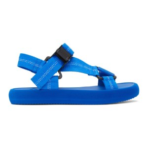 Off-White Blue Trek Sandals