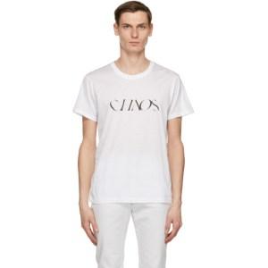 Johnlawrencesullivan White Chaos T-Shirt