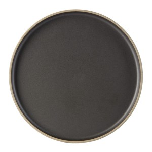 Hasami Porcelain Black HPB05 Plate